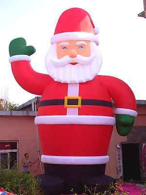 26' Inflatable Santa Christmas Holiday Decoration with Blower 110v/ 220v nz](Nz Halloween Decorations)