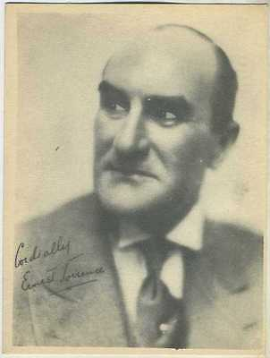 Ernest Torrence 1920s Kashin Motion Picture Stars Large Trading Card W618