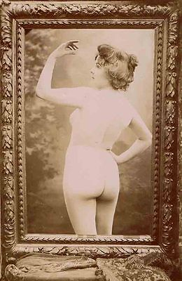 J M CANELLAS photo de nue c.1890 risque sexy / 13