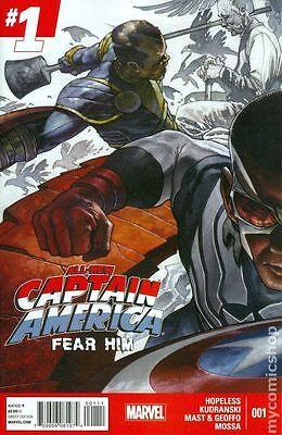 All New Captain America Fear Him #1-#4 New/Unread Marvel Comics