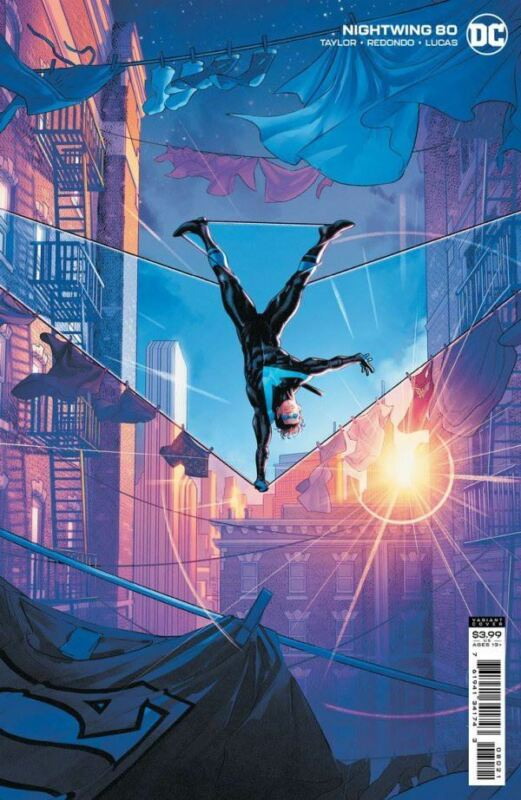 Nightwing #80 Card Stock Variant Edition