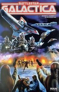 Battlestar Galactica Season III (Realm Press) Comic Books - 1999 Athelstone Campbelltown Area Preview