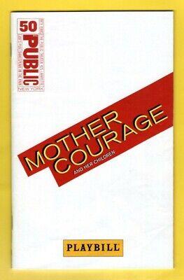 "Meryl Streep ""MOTHER COURAGE"" Kevin Kline / Bertolt Brecht 2006 Program / Ticket"