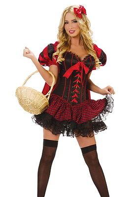 Déguisement complet Chaperon Rouge  - Costume Luxe - Chaperon Rouge Kostüm