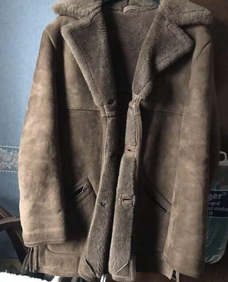 Wanted 42/44 mans sheepskin coat