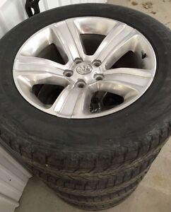 20 INCH DODGE RAM 1500 WHEELS AND TIRE 2016