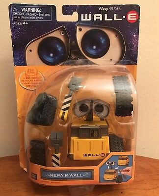 NEW Disney Pixar WALL•E U-REPAIR WALL-E Action Figure Thinkway Toys Robot 20 pc.