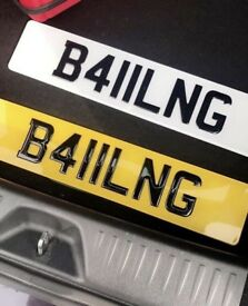 Balling Number Plate - B411LNG