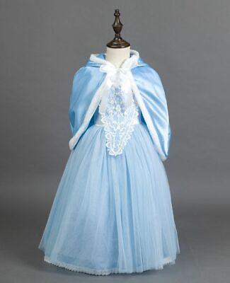Cinderella  Princess Party Dress Kids Girl 2 Pieces Set Costume Dress Up - 2 Girl Costumes