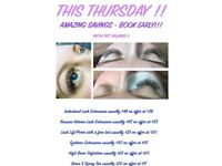 DISCOUNTED BEAUTY TREATMENTS THIS THURSDAY