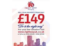 ** SELL YOUR PROPERTY FOR £149**