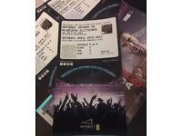 2x Anthony Joshua VS Wladimir Klitschko Ring Side tickets