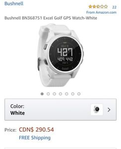 Bushnell excel golf gps watch NEW