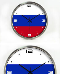 D179 Modern Style Mute Silvery Frame Living Room Decoration Wall Clock 12 Inch A