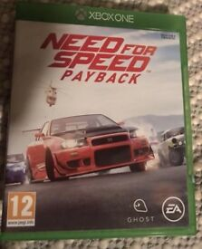 Need for speed payback Xbox one £12