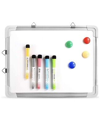 Small Dry Erase White Board Magnetic Portable Hanging Whiteboard Easel