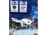 Lexmoto XTRS 125cc White 16 plate