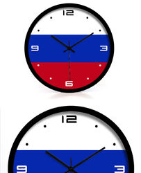 D180 Modern Style Mute Black Frame Living Room Decoration Wall Clock 14 Inch A