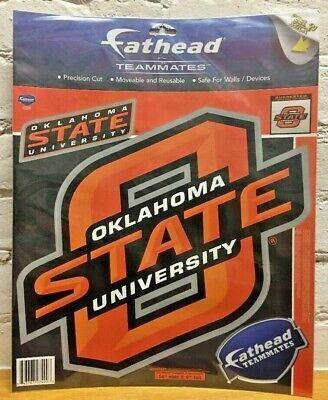 - Oklahoma State Cowboys NCAA Fathead Teammates Peel & Stick Wall Decal Graphics