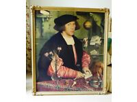 Framed print – of Georg Gisze/Giese by Hans Holbein