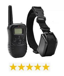 Pet Dog Training Collar - Waterproof & Rechargeable with LCD Shock Control
