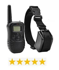 Dog Training Collar - Waterproof & Rechargeable with LCD Shock Control - Free Shipping