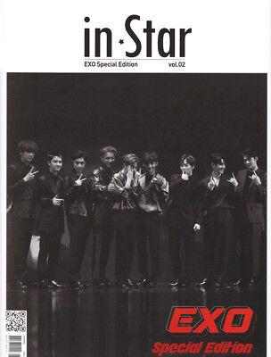IN STAR INSTAR KOREA MAGAZINE VOL.2 EXO Special Edition 2018 DEC DECEMBER SEALED