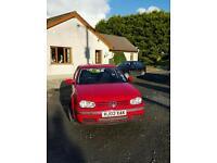 2002 VW GOLF 1.9 TDI