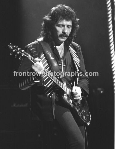 Tony Iommi - Black Sabbath - 8x10 BW Photo