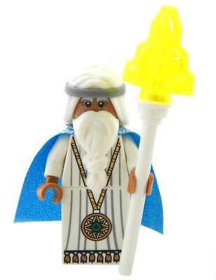 NEW LEGO MOVIE VITRUVIUS MINIFIG with staff minifigure figure toy ()