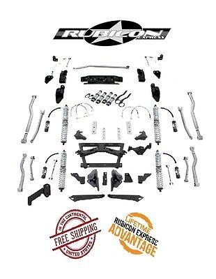 "Rubicon Express 3.5- 5.5"" Extreme Duty Long Arm Kit w/ Coilovers 07-18 Jeep JKU"