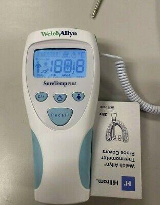 Welch Allyn Suretemp Digital Thermometer Suretemp Plus 690 692 Probe Covers