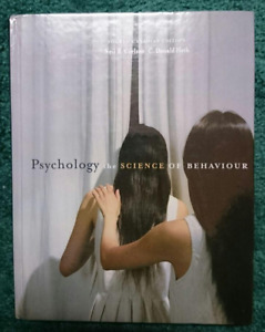 Psychology The Science of Behaviour 4th Canadian Ed Carlson Heth