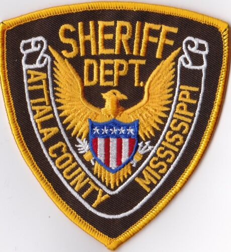 Attala County Sheriff Dept. Police MS Mississippi Patch NEW!!