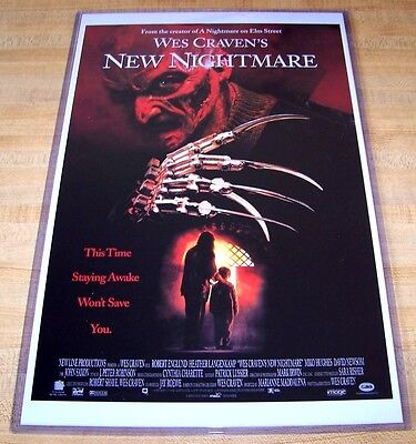 Wes Craven's New Nightmare on Elm Street Freddy Krueger 11X17 Movie Poster