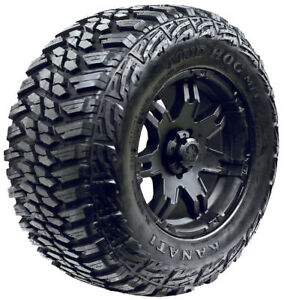 35x12.50R16 Kanati Mud Hog M/T Mud Tires New LRD/8Ply *Set of 4* 315/75R16