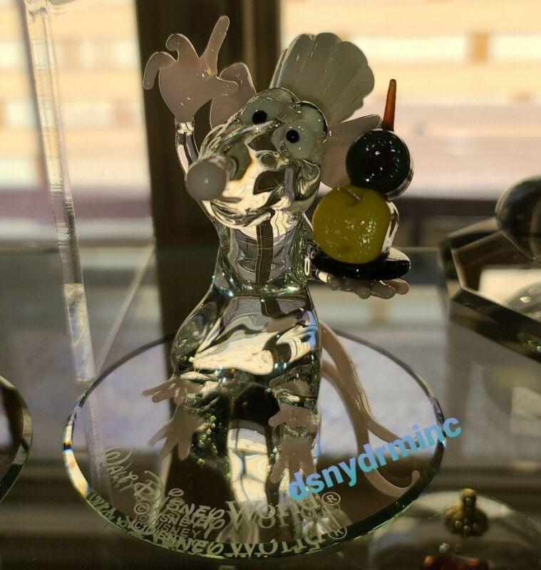 Disney Parks Arribas Bros Ratatouille CHEF REMY Blown Glass Figurine Figure NEW