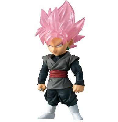 Dragon Ball Adverge SP2 Goku Black Super Saiyan Rose Character Candy Mini Figure
