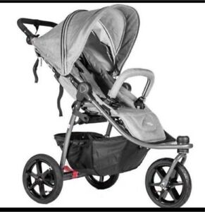 Valco Tri Mode X Tailormade Single Stroller Grey Marle