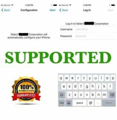 APPLE IPHONE IPAD MDM BYPASS / UNLOCK REMOTE MANAGEMENT PROFILE - UPTO iOS 14.5