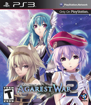 Aksys Record Of Agarest War 2 Limited Edition Ps3 Playsta...