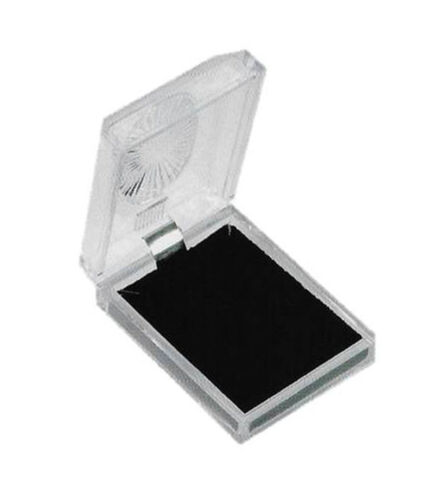 24 PCS CRYSTAL CLEAR PENDANT BOX