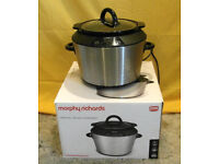 Morphy Richards Digital Slow Cooker 5L. Model 48724. Rarely Used, Good Condition.