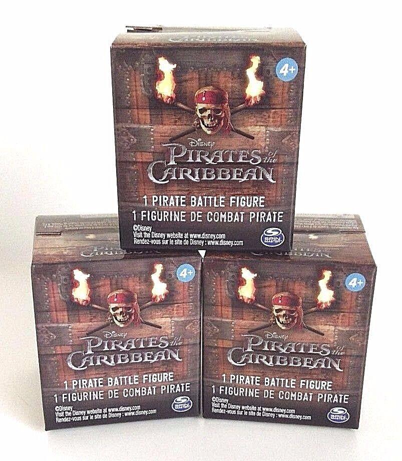 Détails sur Pirates of the Caribbean Mini Pirate Battle figures Blind Box x3 afficher le titre d'origine