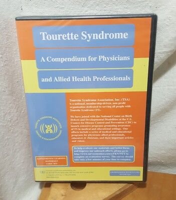 Tourette Syndrome A Compendium For Physicians   Health Professionals 3 Disc Dvd