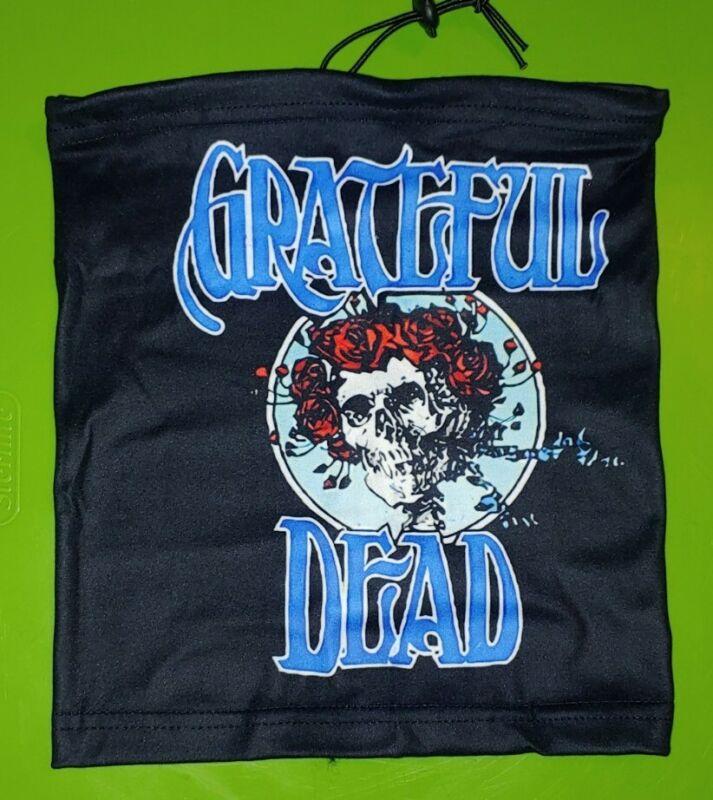 Grateful Dead gaiter face mask.