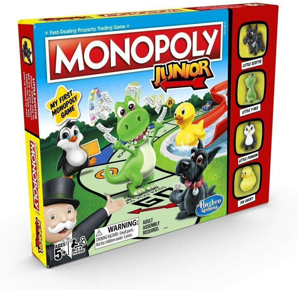 MONOPOLY JUNIOR BOARD GAME BRAND NEW