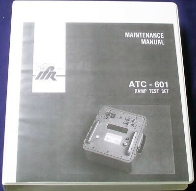 Aeroflex Ifr Atc-601 Transponder Ramp Test Set Service Manual Copy