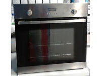 C432 stainless steel lamona single electric oven comes with warranty can be delivered or collected
