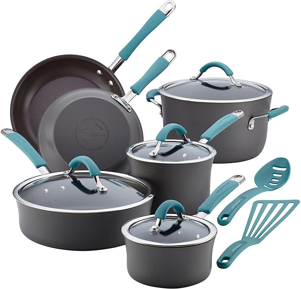 Rachael Ray Cucina Hard Anodized Nonstick Cookware Pots and